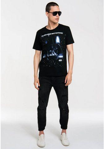 LOGOSHIRT Marškinėliai su Star Wars-Print