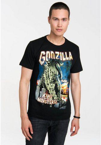 LOGOSHIRT Marškinėliai su Godzilla King Of The M...