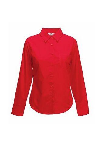 FRUIT OF THE LOOM Marškiniai »Lady-Fit Poplin palaidinė ...