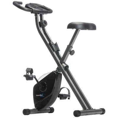 Skandika Fitnessbike »Foldaway X-1000 (schwarz)«