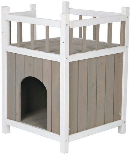 Trixie Katzenhaus »Cat's Home«, mit Balkon, B/L/H: 45/45/65 cm