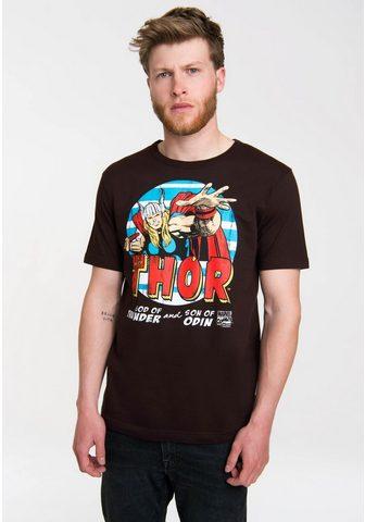 LOGOSHIRT Marškinėliai su coolem Superhelden-Fro...
