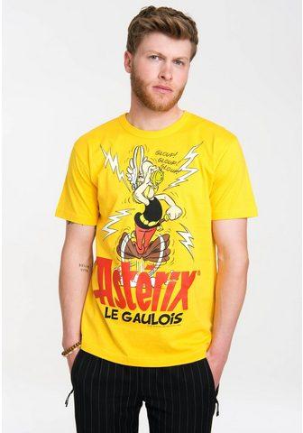 LOGOSHIRT Marškinėliai su retro raštas »Asterix ...