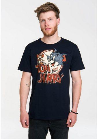 LOGOSHIRT Marškinėliai su puikus raštas »Tom ir ...