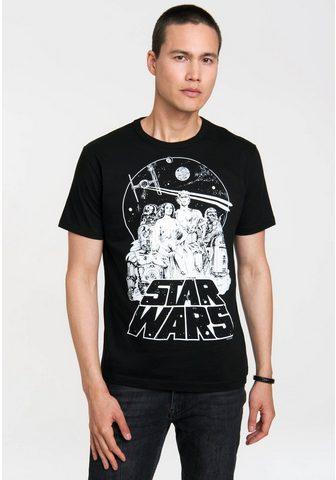 LOGOSHIRT Marškinėliai su coolem Star Wars-Druck...