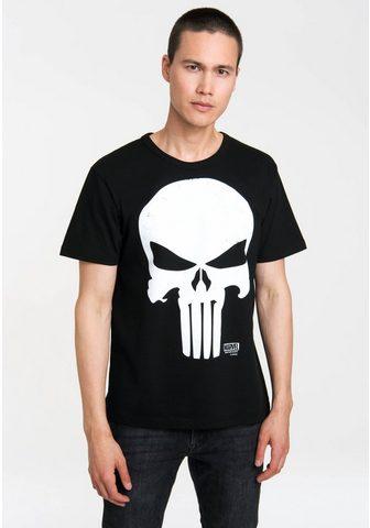 LOGOSHIRT Marškinėliai su coolem Schädel-Print »...