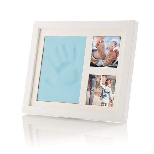 SmileBaby Bilderrahmen »Baby Hand- & Fußabdruck«, Acrylglas