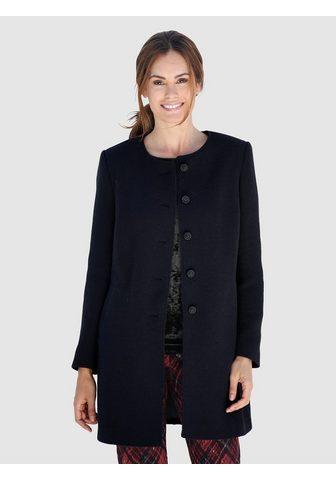 Куртка длинная в красивый Bouclé...