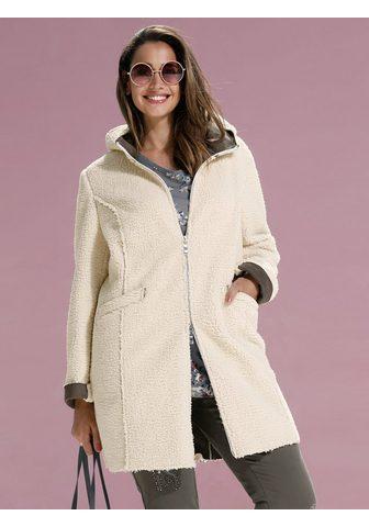 Куртка из flauschigem Kunstfell