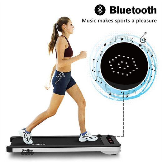 Vaxiuja Laufband »Laufmaschine unter dem Schreibtisch Elektrisches Laufband mit Bluetooth-Audio-Lautsprechern und drahtloser Fernbedienung«