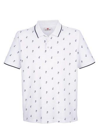 BOSTON PARK Polo marškinėliai su Allover-Druckmust...