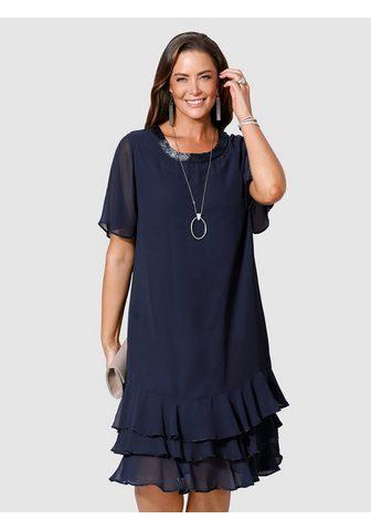 Коктейльное платье с Perlendekoration