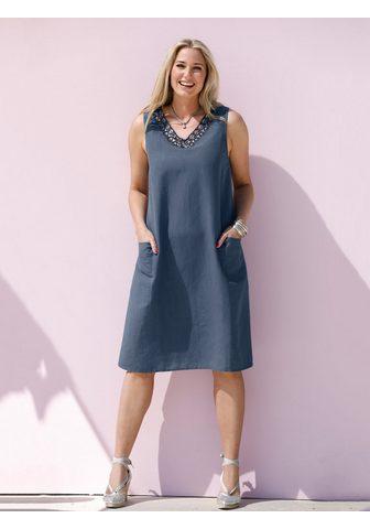 MIAMODA Suknelė iš Baumwoll-Leinen audinys