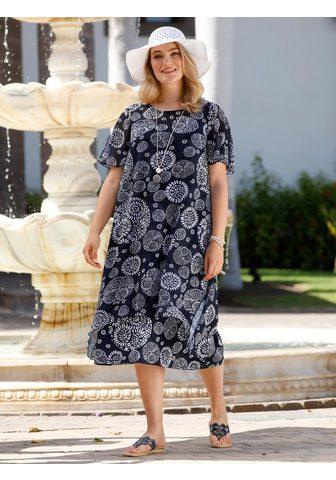 M. COLLECTION Šifoninė suknelė kurį sudaro iš Pasijo...