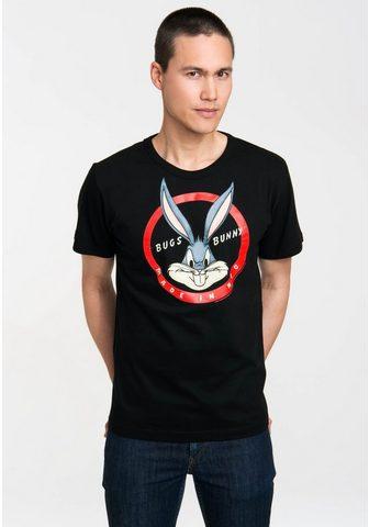 LOGOSHIRT Marškinėliai su puikus Bugs Bunny-Prin...