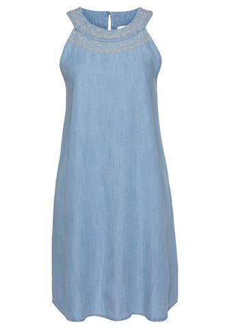 EDC BY ESPRIT Džinsinė suknelė