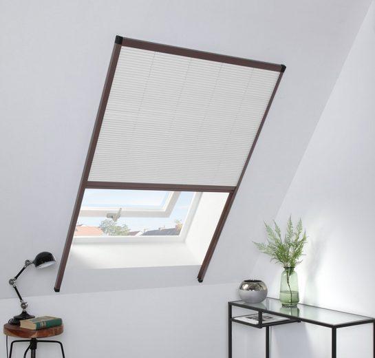 Dachfensterplissee, hecht international, blickdicht, Lichtschutz, BxH: 110x160 cm