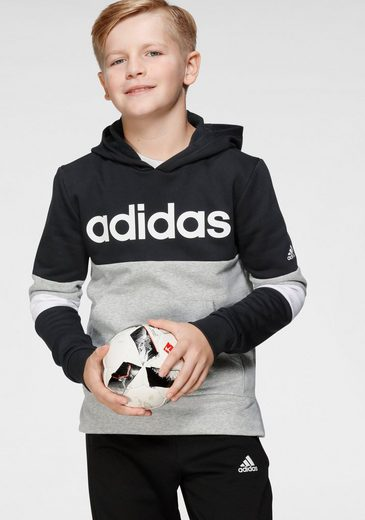 adidas Performance Kapuzensweatshirt »YOUTH BOY LINEAR CLUB HOOD FLEECE«