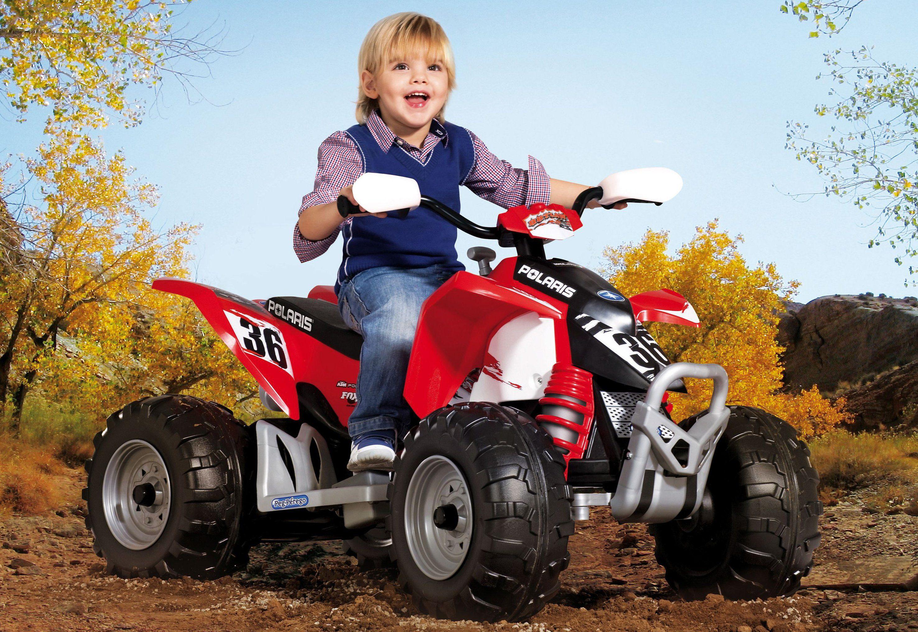 Peg-Pérego Elektrofahrzeug für Kinder Quad »Polaris Outlaw - 12 Volt«