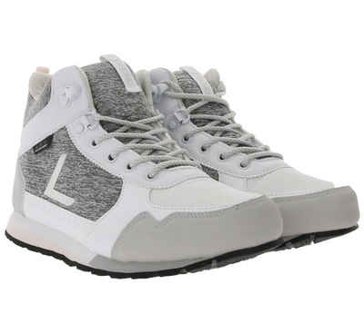 Luhta »LUHTA Urheams Mid-Top Outdoor-Schuhe bequeme Damen Sneaker mit Logo-Print Turnschuhe Weiß« Sneaker