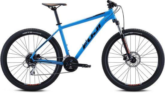 FUJI Bikes Mountainbike »Fuji Nevada 1.7 2021«, 24 Gang Shimano Acera Schaltwerk, Kettenschaltung