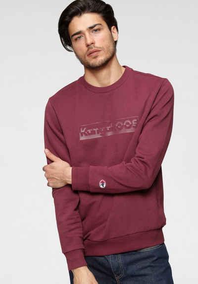 KangaROOS Sweatshirt mit großem Logofrontprint