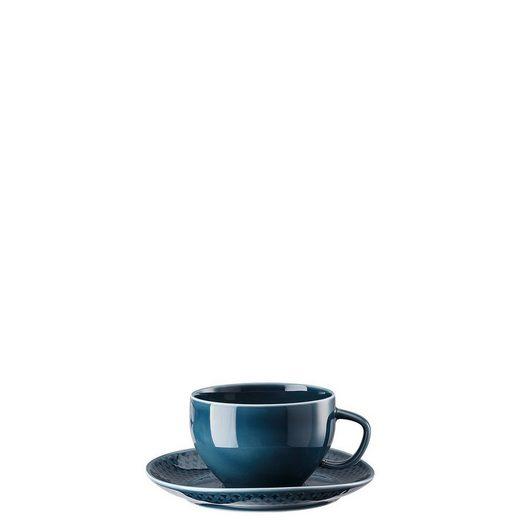 Rosenthal Tasse »Junto Ocean Blue Tee-Obertasse«, Porzellan