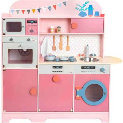 Small Foot Kinder-Küchenset »Kinderküche Rosa Gourmet«