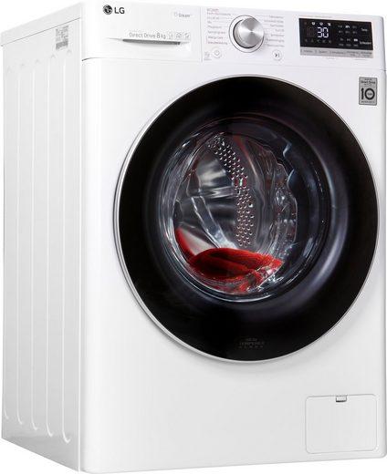 LG Waschmaschine F4WV508S1, 8 kg, 1400 U/Min, 4 Jahre Garantie + kostenlose Altgerätemitnahme