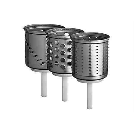 KitchenAid® Zusatztrommel-Set »EMVSC« (3 Stck.): passend für KitchenAid Gemüseschneider MVSA