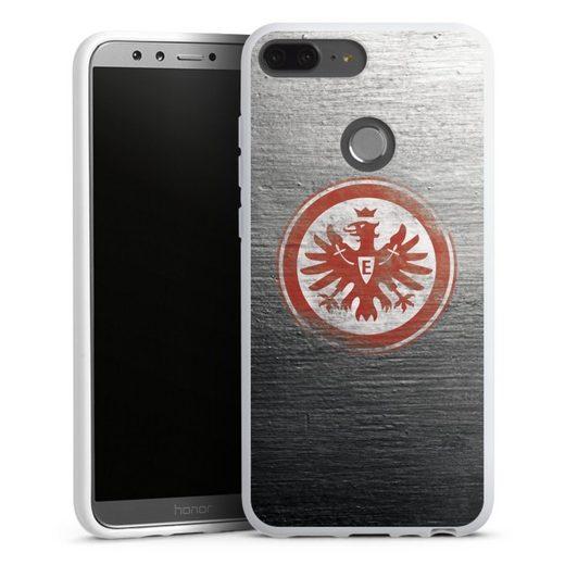 DeinDesign Handyhülle »Eintracht Logo Scratched« Huawei Honor 9 Lite, Hülle Eintracht Frankfurt SGE Logo