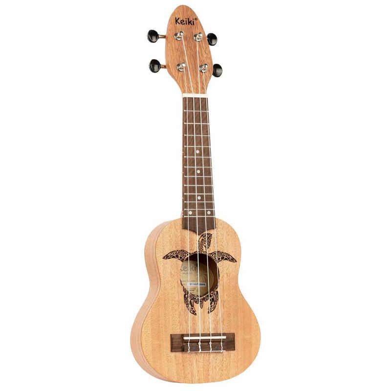 Keiki Ukulele »Sopranino, Holz Natur«