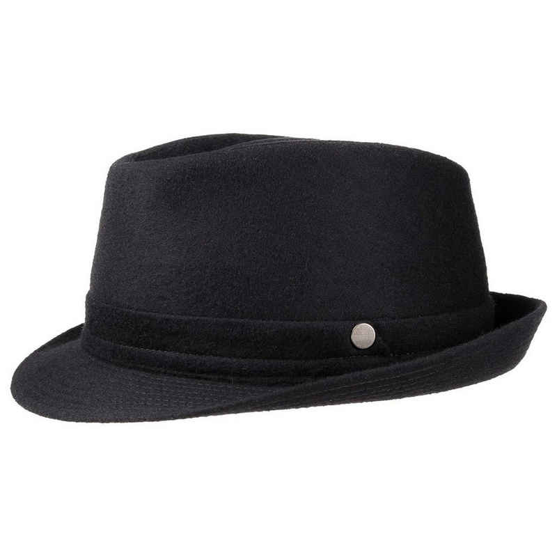 Lierys Trilby Wollhut mit Futter, Made in Italy