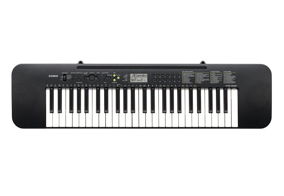 Casio® Standard Keyboard, »CTK-240« in schwarz