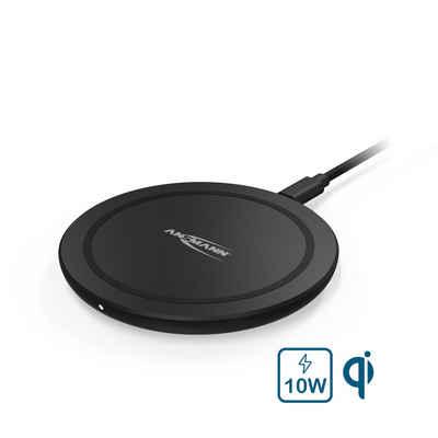 ANSMANN® »Wireless Charger 10W - induktive Qi Ladestation Induktions-Ladegerät« Wireless Charger