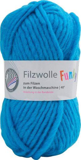 Gründl Bastelfilz »Filzwolle Funky«, 50 g