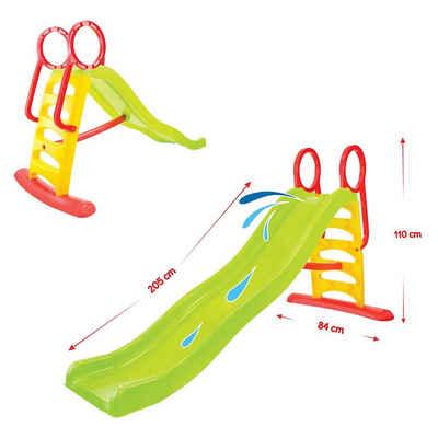 Mochtoys Rutsche »Kinderrutsche und Wasserrutsche 11557«, Rutschlänge 205 cm bis 50 kg