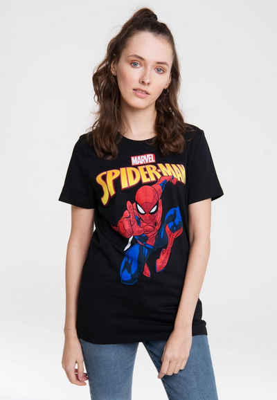 LOGOSHIRT T-Shirt mit coolem Frontprint