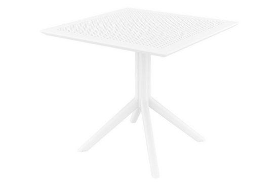 CLP Gartentisch »Sky 80 cm«, aus UV-beständigem Kunststoff