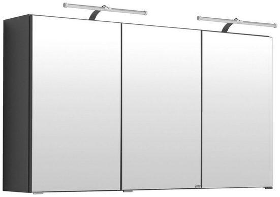 HELD MÖBEL Spiegelschrank »Florida« Breite 120 cm, mit Spiegeltüren und Türendämpfern