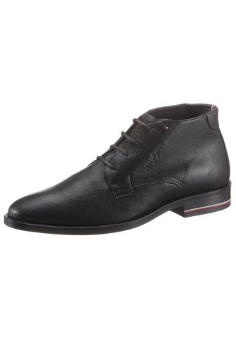TOMMY HILFIGER »SIGNATURE hilfiger LEATHER BOOT« suva...