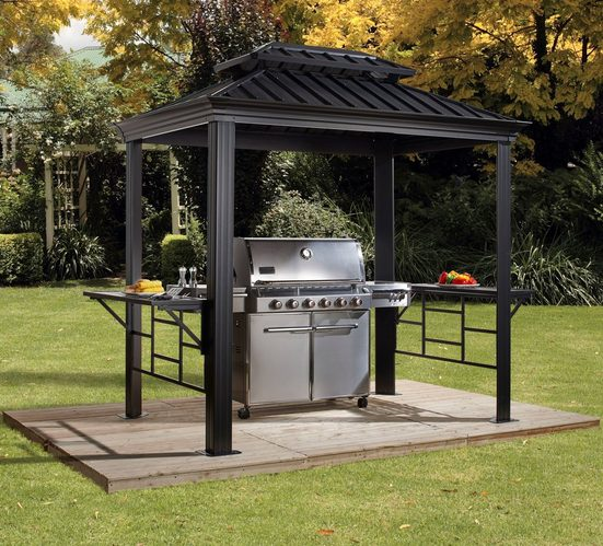 Sojag Grillpavillon »BBQ Messina«, BxT: 179x292 cm
