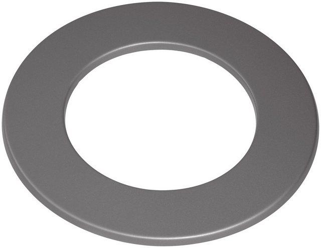 Justus Rosette 150 mm Stahl Gussgrau
