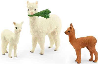 Schleich® Spielfigur »Wild Life, Alpakafamilie (42544)«