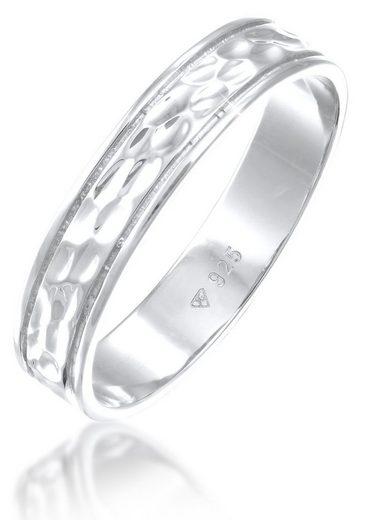 Elli Premium Partnerring »Elli PREMIUM Ring Paarring Bandring Trauring Freundschaft, 0608720720, 0608910720«
