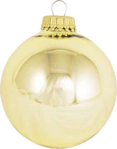 Krebs Glas Lauscha Weihnachtsbaumkugel »CBK70116« (8 Stück)