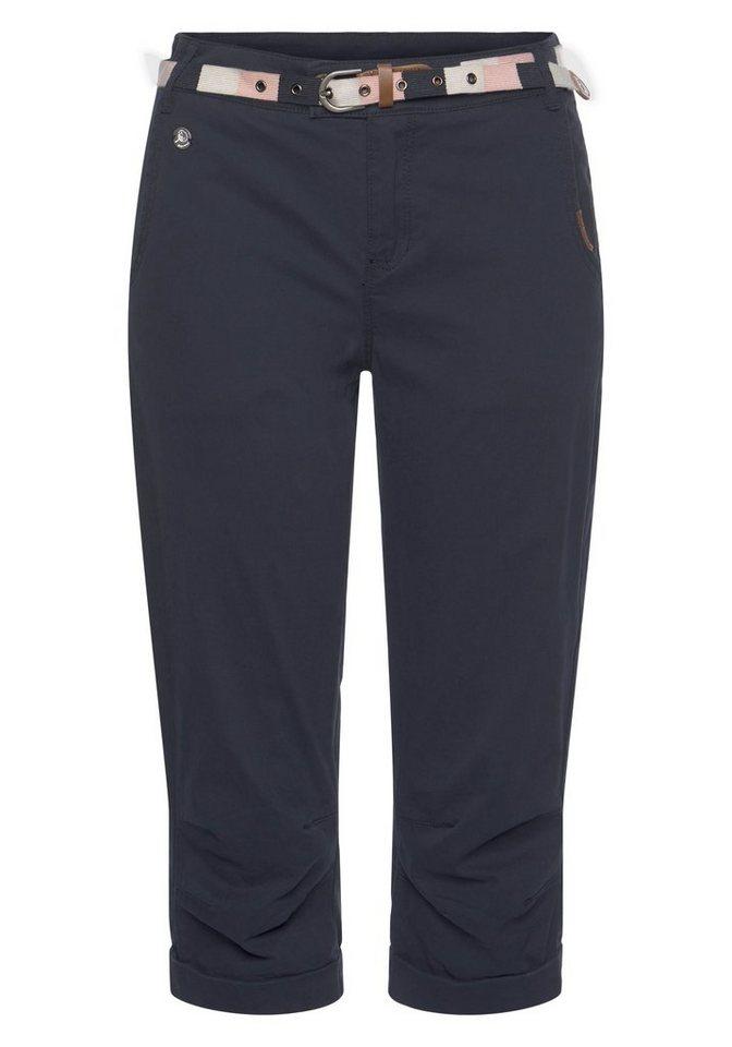ragwear -  7/8-Hose »CIRILA ORGANIC« (2-tlg., mit abnehmbarem Gürtel)