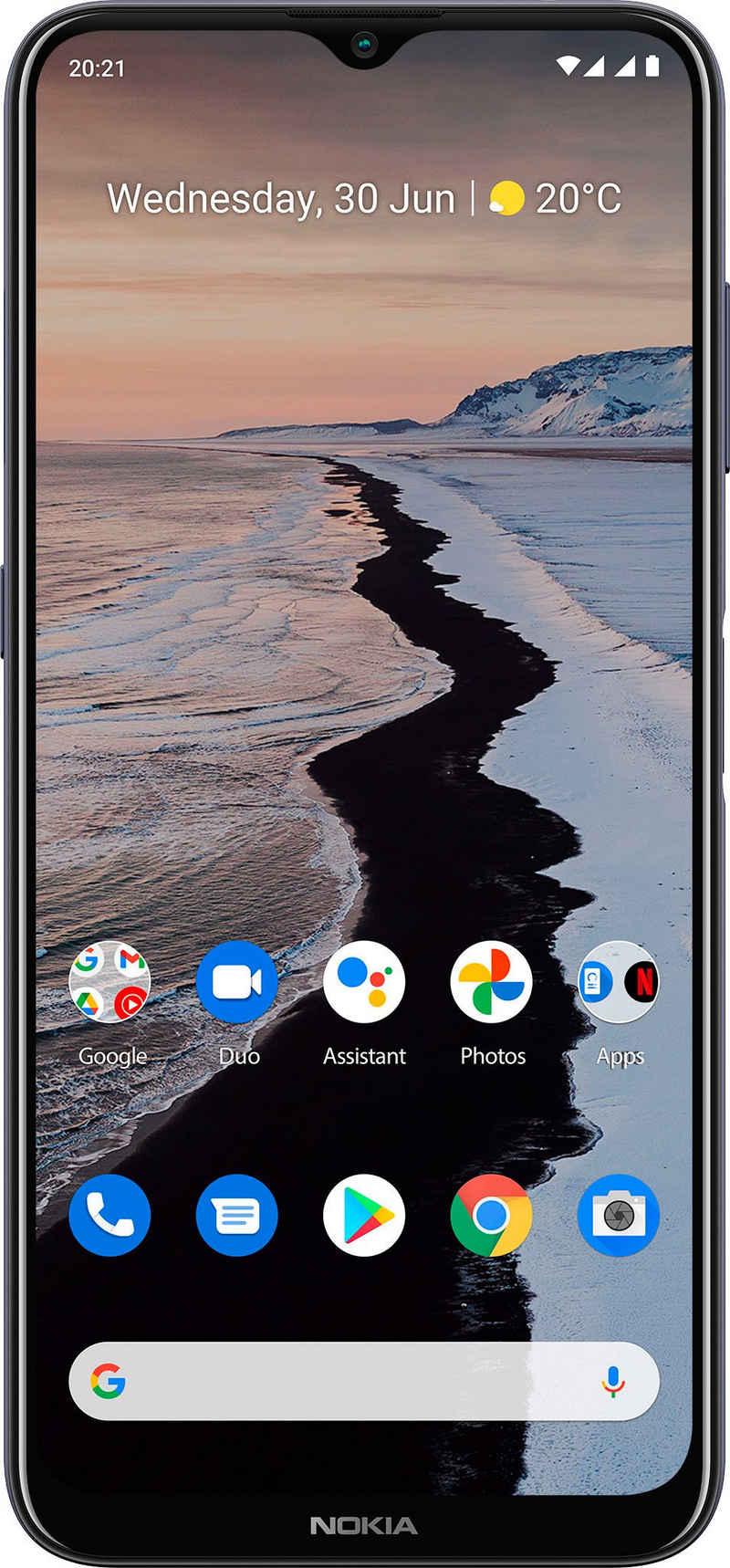 Nokia G10, 3+32GB, Dual-SIM Smartphone (16,54 cm/6,51 Zoll, 32 GB Speicherplatz, 13 MP Kamera)