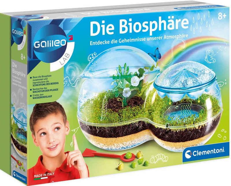 Clementoni® Experimentierkasten »Galileo Die Biosphäre«, Made in Europe