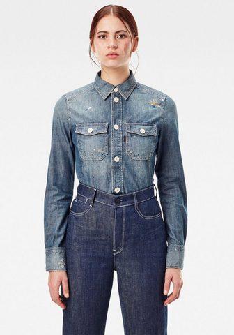 G-Star RAW Jeansbluse »Kick Back Worker Hemd« auf...